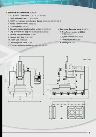 4 Axis CNC Slotting Machine