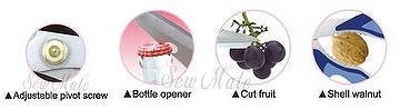 "Multi-Functional Kitchen Scissors (8.5"")"