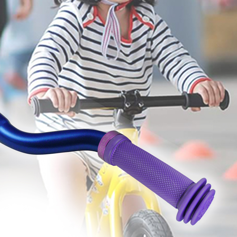 Kids Children Scooter Bicycle Handlebar Grips Non-toxic Soft Lock On Grip 1 Pair