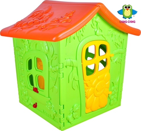 OT-12 forest house with 2 doors- toy