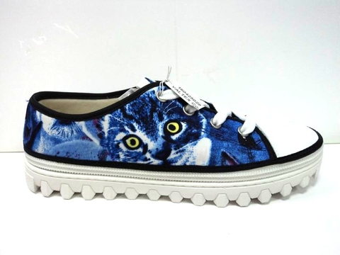 Convertible Kids Shoes - Cat low top