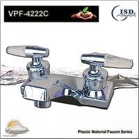 """4"""" Dual Handles Basin Lavatory Faucet w/Plastic material"""