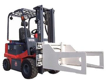 Advanced Electric Forklift Truck(Load:1.5Tons/2Tons/2.5Tons + Bale Clamp(3300LB~5500LB) by Noveltek