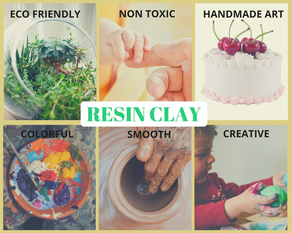 Wholesale 12 Colors Creative Handicraft Resin Clay