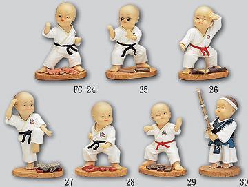Taiwan Karate Figures Indicia Enterprise Co Ltd