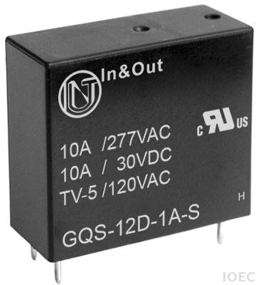 Relay GQS Industrial Relay Power Relay IOEC In & Out