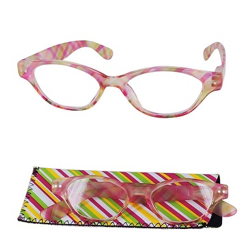 PC reading glasses with pattern