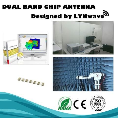 Tiny 2.4/5GHz Dual Band SMD Ceramic Chip Antenna