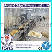 High Quality Large Type Oil Fried Crispy Cassava Chips Frying Line