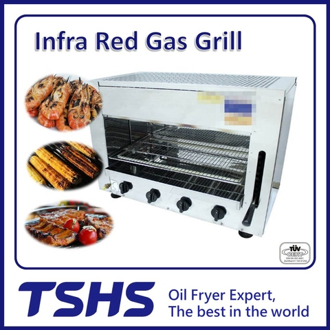 Best Quality Convenient Fish Infared Gas Grill Machine