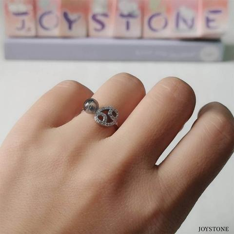 Cancer Silver Zodiac Diffuser Adjustable Ring