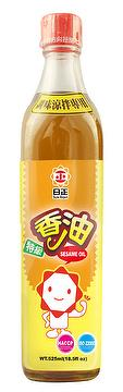 White SESAME OIL 525ml, Seasonings and Condiments