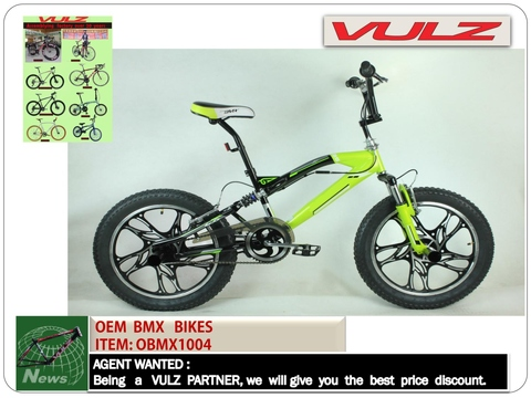 Taiwan BMX , hi- ten, alloy frame, freestyle /dirtjump bmx