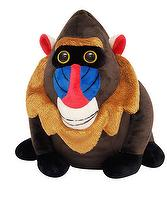 STUFF TOYS, SOFT FABRIC IN MANDRILL DESIGN