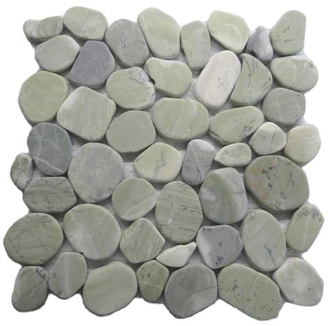 Green Nature  Slate Flat Tile
