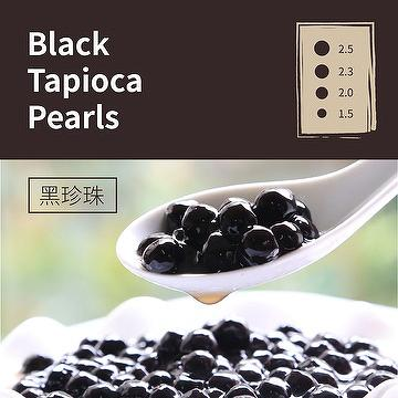 Black Tapioca Pearls