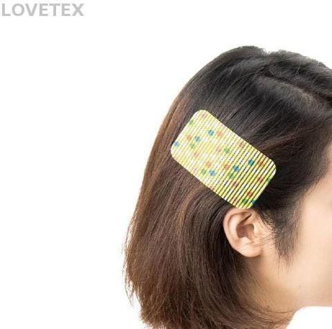 Golden Lover-Hair Bang Sticker