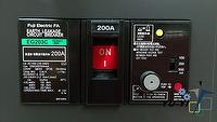 FUJI Electric FA EG203C EB3GEC-200K/SHIMADEN PSH-340K