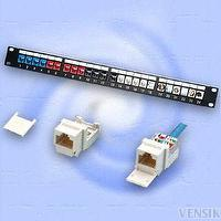 Network patch panel - Keystone jack