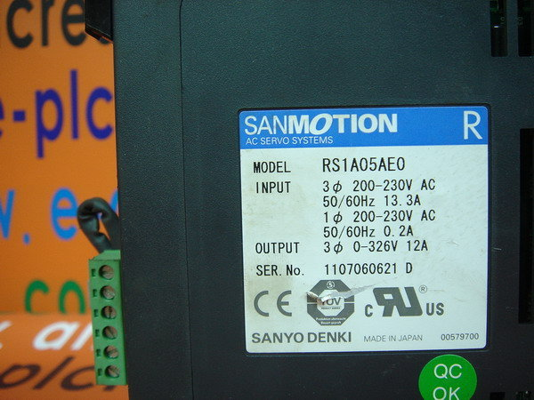 SANYO SANMOTION RS1A05AE0