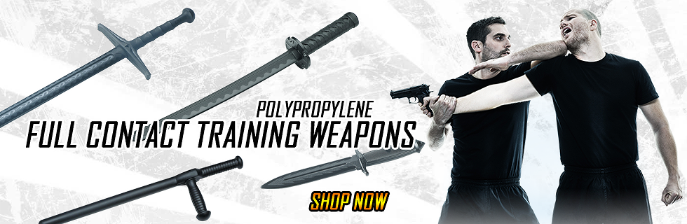 FULL CONTACT POLYPROPYLENE TRAINING WEAPONS