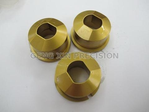 Taiwan Hexagon Bolt Head Trimming Die Moulds Geng Xin