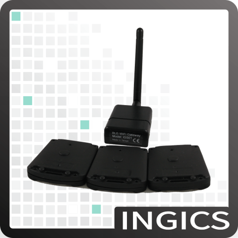 Taiwan Bluetooth WiFi sensor beacon tag gateway for human