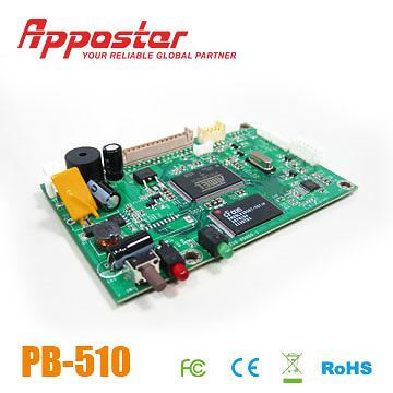 Appostar Printer Control Board PB510 Side View