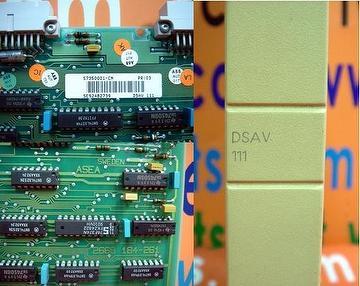 ABB DSAV 111 / DSAV-111 / DSAV111 57350001-CN Video Generater Module / ASEA 2668 184-261