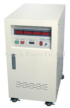 SPA series 1Phase AC Power Source 500VA to 45KVA, AC Source Stationary type, Variable Voltage Variable Frequency, VVVF Free Standing type, Frequency Converter