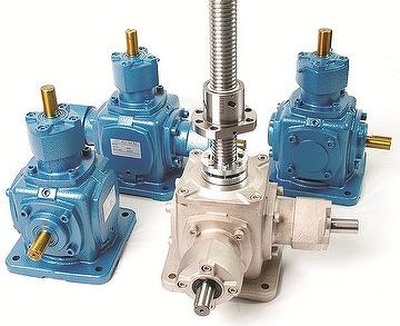 Miter Gear Box which Linear Movement