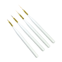 4pcs liner gel nail art brush set