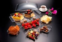 Cake Plate With 5 Compartments