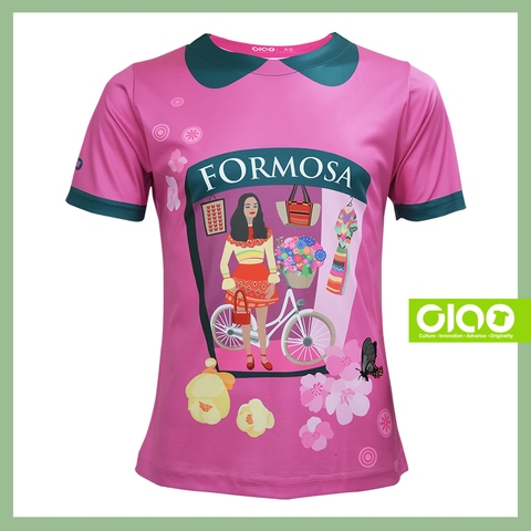 animal design 3D cutting coolmax fabric Sublimated woman clothing