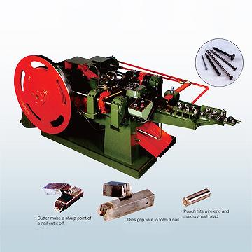 High-Speed Nail Making Machine