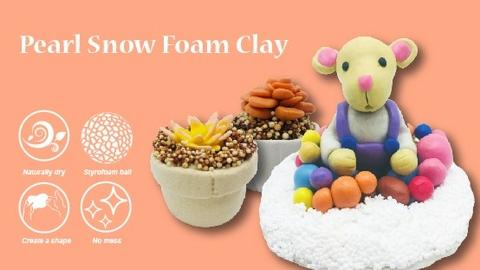 Non Toxic Air Dry Foam Clay For Sale