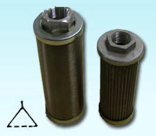 Suction strainer, oil filter, return line filter