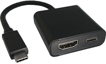 USB Type-C to HDMI w/ PD Adapter