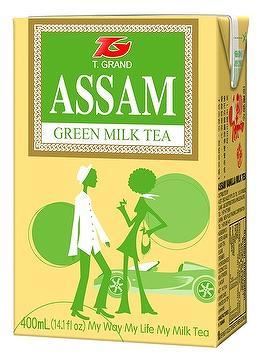 Assam Green Milk Tea