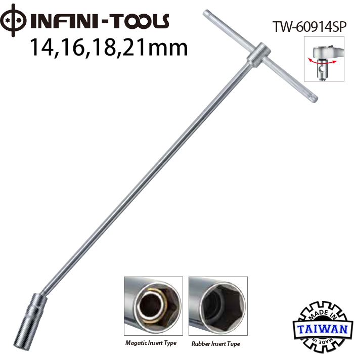 16mm Universal T-handle in acciaio inox Spark Plug Socket Remover Wrench Strumento di smontaggio Suuonee Spark Plug Wrench