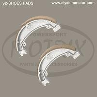 92_MOTORCYCLE BRAKE SHOES PADS