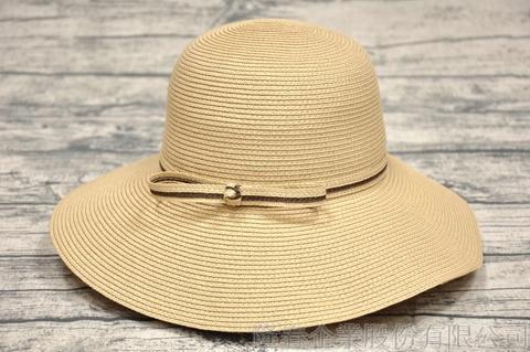 【紙在乎你Natural Club】現代簡約淑女帽 #J40 自然色 可水洗 防曬 紙線編織帽
