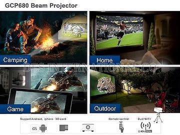 GCP680 Beam Projector