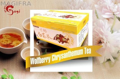 Wolfberry(Goji Berry) chrysanthemum tea 10g*10pcs