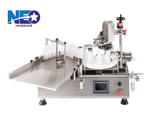 Body Cleanser Tabletop Monoblock Filling And Capping Machine