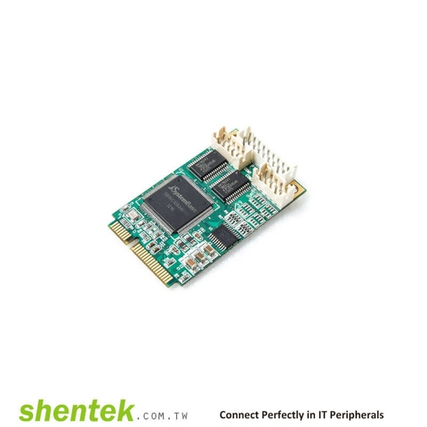 Taiwan embedded serial rs232 parallel mini PCie card | Taiwantrade