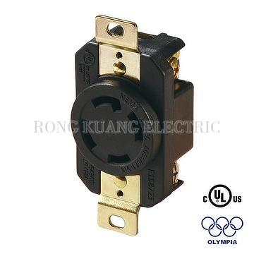 NEMA L14-30 Locking Receptacle