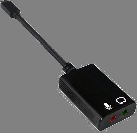 Hi-Res USB / Type-C to 3.5 mm Audio Jack & Mic Adapter