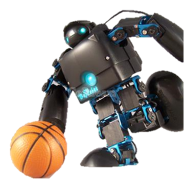 BeRobot Robotic development Platform 15DOF black