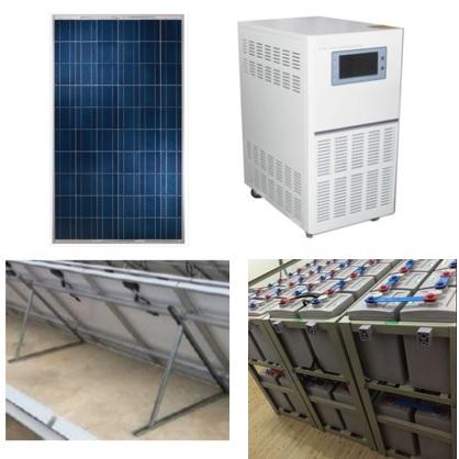 8KW Off-Grid Solar Power System